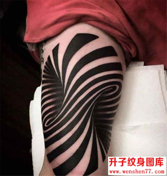 重庆最好纹身店 有个性的3D立体图腾纹身图片大