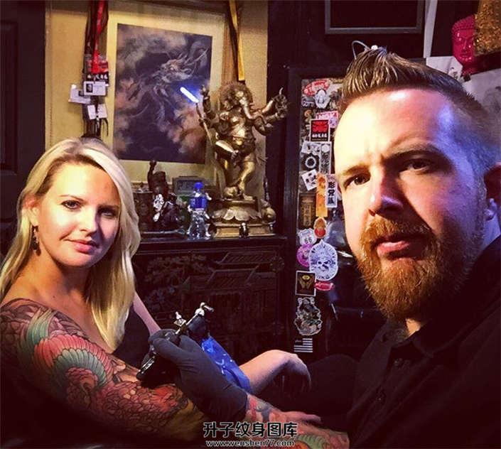 国外Chris Crooks纹身师 纹身工作室