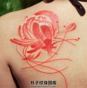 植物荷花纹身图案大全