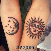 月亮星星太阳是小伙伴