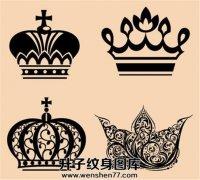 图腾皇冠纹身图案