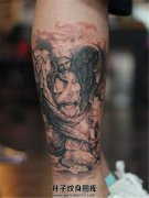 男性小腿纹身纹什么好 天使纹身图案推荐