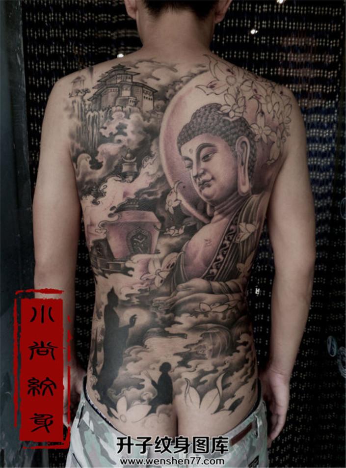 男性满背纹什么好?佛纹身