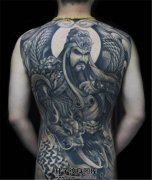关公纹身搭配什么题材好?关公纹身