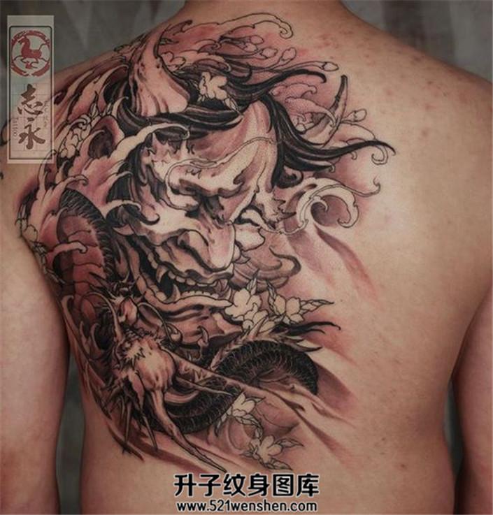 传统纹身常见的素材有哪些?般若龙纹身