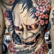 和般若最配的纹身素材是什么?樱花啊