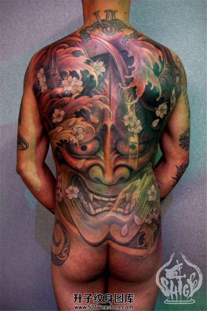 男性满背纹身素材推荐——般若纹身