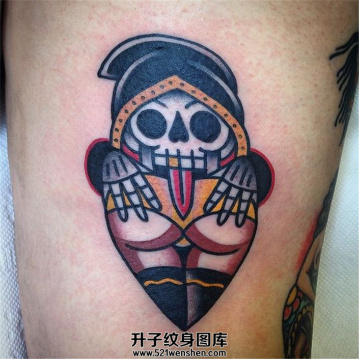 色色的死神 死神纹身
