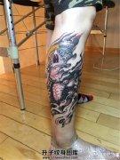 象神纹身纹什么位置?