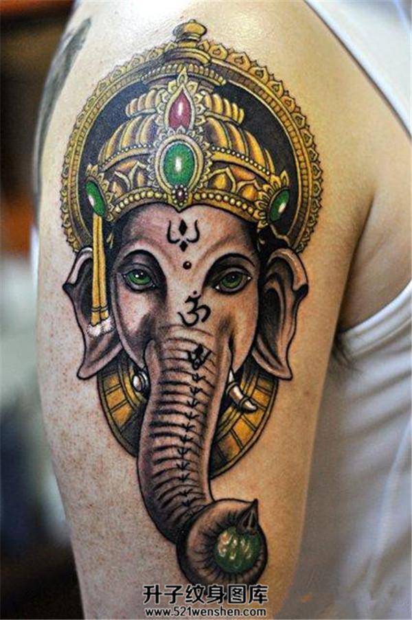 象神纹身有什么寓意?