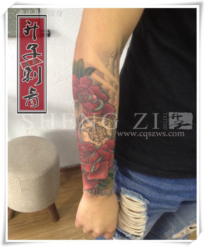 重庆纹身 重庆花臂纹身 重庆花臂纹身价格 《升子作品》