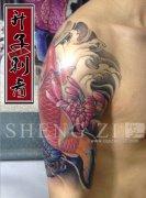 重庆纹身 重庆哪里可以纹身 鲤鱼纹身图案