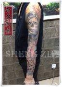 重庆纹身 欧美花臂 写实纹身图案 写实纹身价格