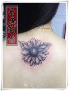 后背纹身_重庆向日葵纹身_重庆向日葵纹身价格