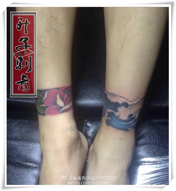脚踝纹身图案大全 脚环纹身图片 脚环纹什么好?