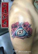 手臂纹身图案_ 上帝之眼纹身图案 全视之眼纹身
