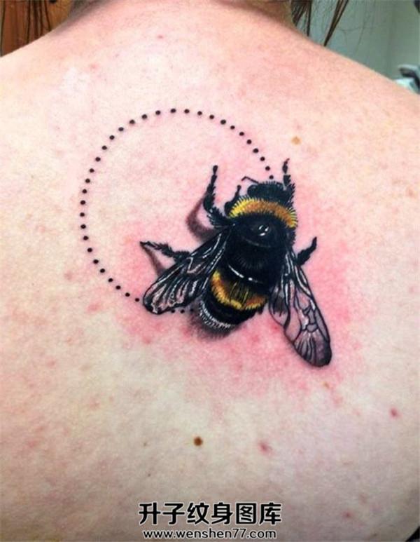 后背纹身 重庆蜜蜂纹身-重庆蜜蜂纹身价格
