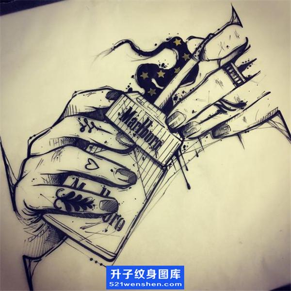 欧美纹身手稿大全-手稿纹身图片