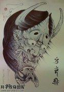 纹身手稿传统般若纹身图片大全