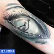 欧美写实眼睛纹身图案大全 解放碑纹身