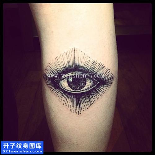 手臂眼睛纹身图案大全