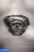 胸口眼睛纹身图案大全 沙坪坝纹身