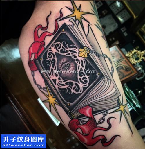 大臂内侧书纹身图片大全 new school纹身哪里好