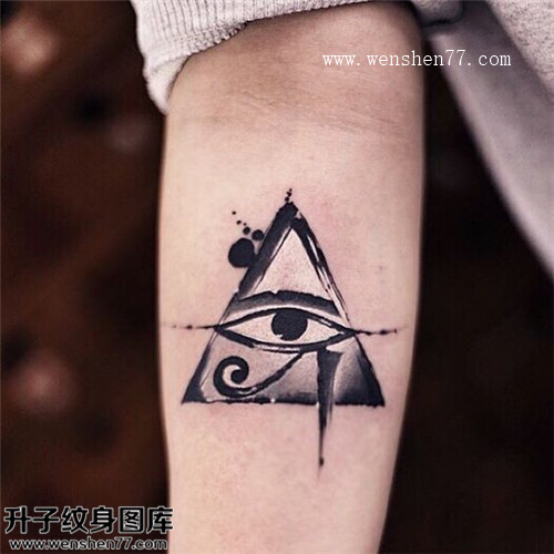 Egyptian Cat Eye Tattoos