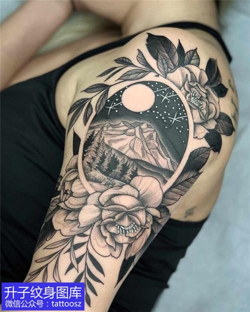 重庆纹身哪里好在大臂做一个这个图案怎么样