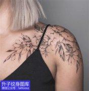 重庆专业纹身店可以做素花纹身图案吗