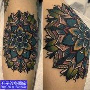 重庆刺青推荐手臂梵花纹身图案