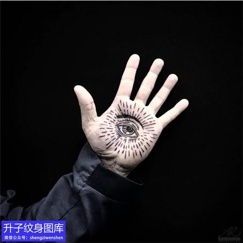 六款精致好看的手掌心纹身图案