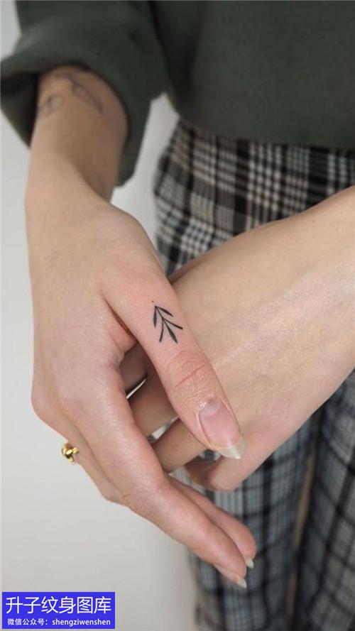 手指小清新纹身图案大全