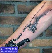 五里店手臂内侧机车纹身图案